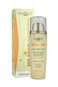 Vyživující olivový olej na vlasy a pokožku hlavy 100 ml Aphrodite