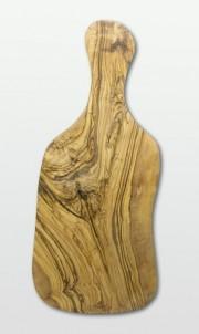 Prkénko na krájení s rukojetí z olivového dřeva velké 45 cm x 19 cm č.1