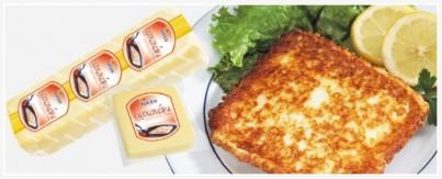 Řecký smažený sýr Saganaki