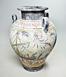 Mínojská keramika - Amfora - výška 23 cm