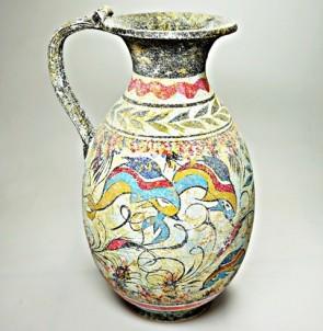 Mínojská keramika - Džbán - výška 22 cm