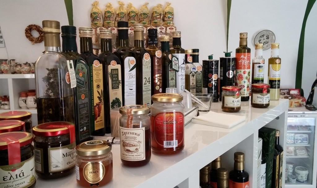 Ochutnávky olivových olejů