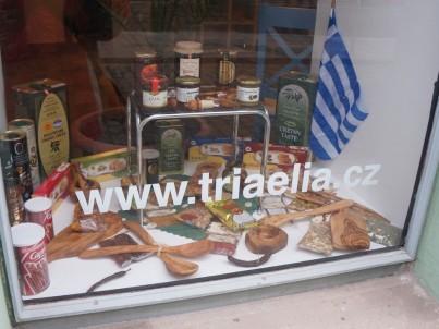 Triaelia - Řecká a Krétská olivová kosmetika a delikatesy
