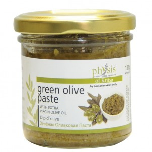 100% přírodní  olivová pasta ze zelených oliv 135 g