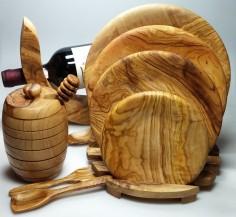 kolekce z olivového dřeva