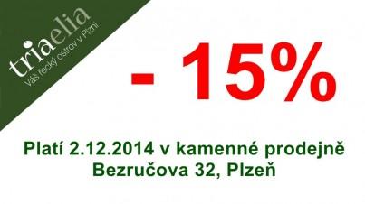 -15% sleva