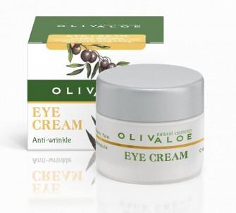Oční krém proti vráskám 40 ml OlivAloe