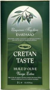 Extra panenský olivový olej 3l plech CRETAN TASTE