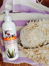 Přírodní opalovací  kosmetika OlivAloe