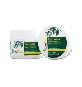 Vlasová maska - 200 ml OlivePlus