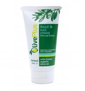 Krém na ruce a nehty s extraktem z olivových listů - 150 ml OlivPlus