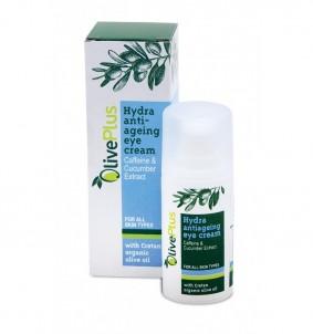 Hydratační anti-age oční krém - 15 ml OlivePlus