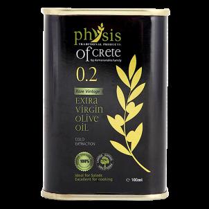 Extra panenský olivový olej Physis of Crete Acidita 0,2 plech 0,1l