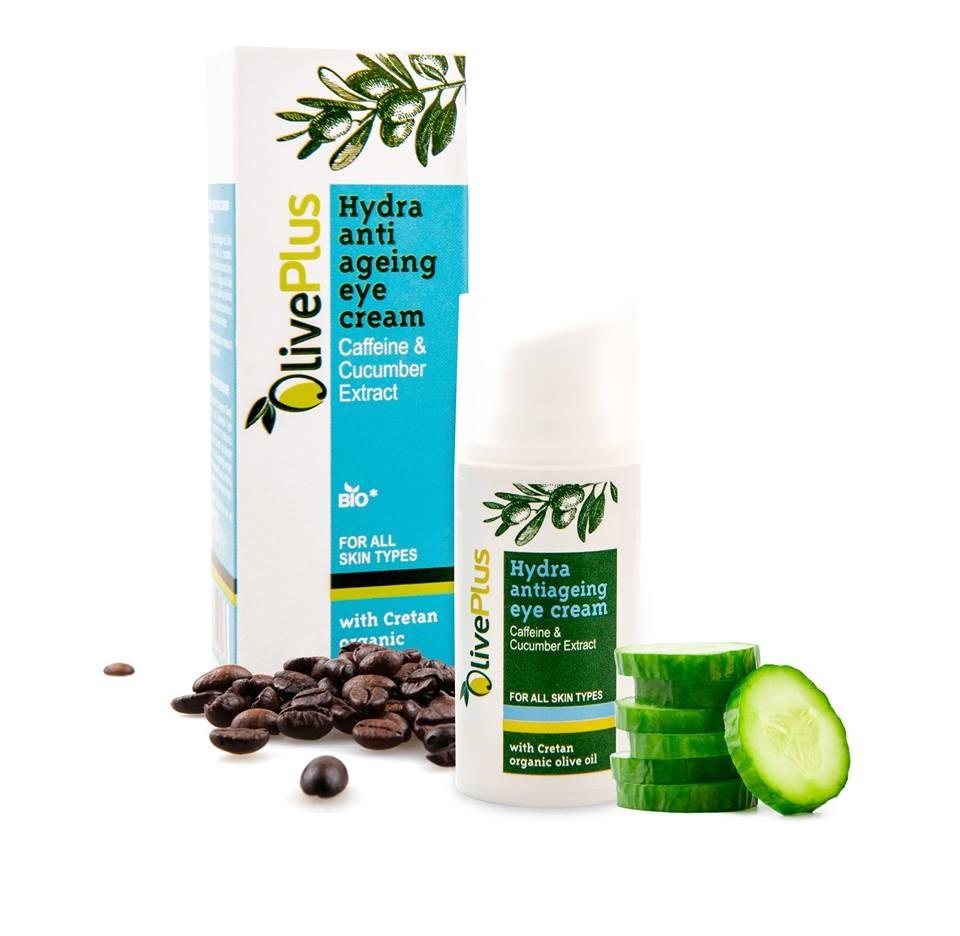 OlivePlus ® | Oční krém anti-age s BIO olivovým olejem 15 ml