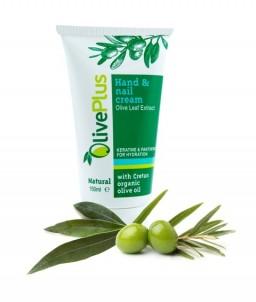 Krém na ruce a nehty s extraktem z olivových listů - 150 ml