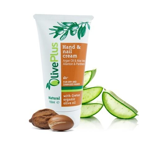 OlivePlus krém na ruce a nehty s arganovým olejem 150 ml