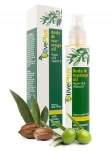 Tělový masážní olej s arganovým olejem - 125 ml