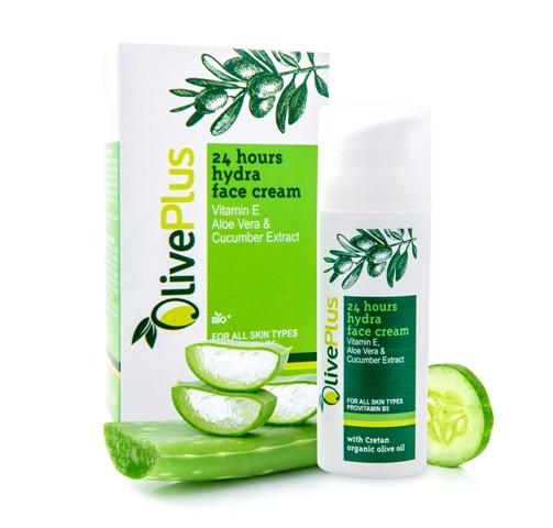 OlivePlus ® | Hydratační krém na pleť s BIO olivovým olejem 50 ml