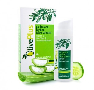 24 hodinový hydratační krém na obličej - 50 ml