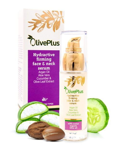 OlivePlus ® | Hydratační a zpevňující sérum na pleť s BIO olivovým olejem 50 ml