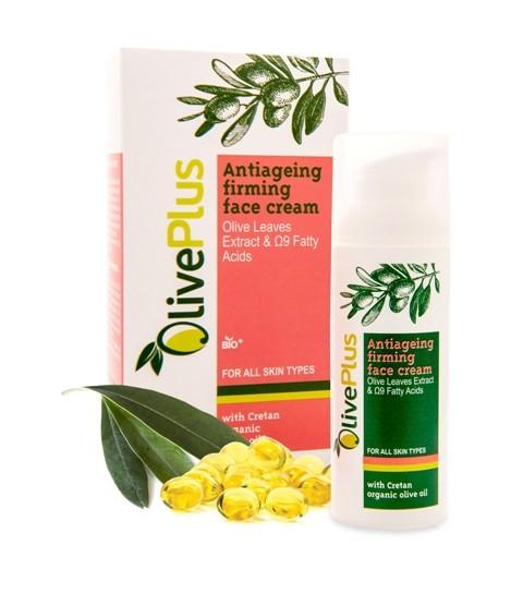 OlivePlus ® | Zpevňující anti-age krém na obličej s BIO olivovým olejem 50 ml