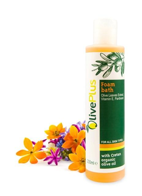OlivePlus ® | Pěna do koupele s BIO olivovým olejem 200 ml
