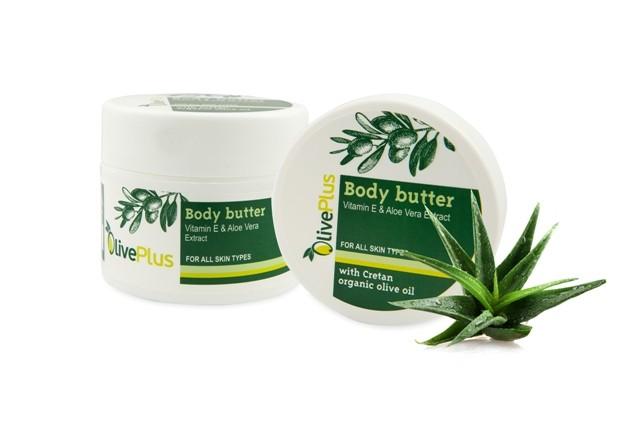 OlivePlus ® | Tělové máslo BIO olivový olej a ALOE VERA 200 ml