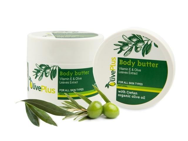 OlivePlus ® | Tělové olivové máslo NATURAL 200 ml
