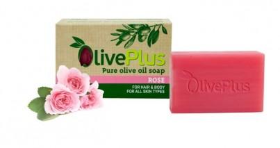 Olivové mýdlo s růží 100 g