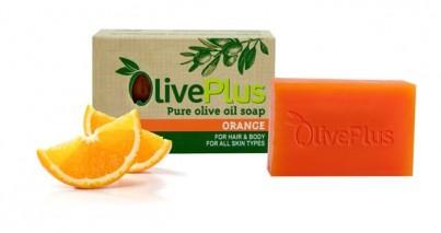Olivové mýdlo s pomerančem 100 g