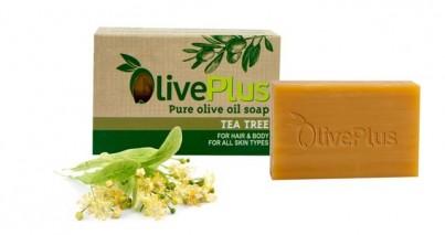 Olivové mýdlo s  tea tree 100 g
