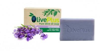 Olivové mýdlo s  levandulí 100 g