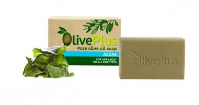Olivové mýdlo s mořskou řasou 100 g