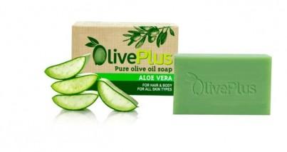 Olivové mýdlo s aloe vera 100 g