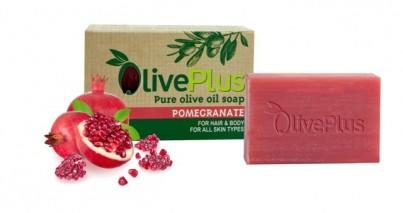 Olivové mýdlo s granátovým jablkem