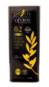 Extra panenský olivový olej Physis of Crete Acidita 0,2 plech 1,5l