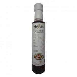 Extra panenský olivový olej na saláty Physis of Crete s bylinkami 0,25l sklo