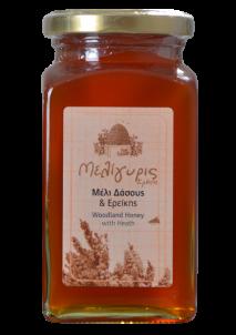 Krétský med lesní byliny a vřes 450g Meligyris