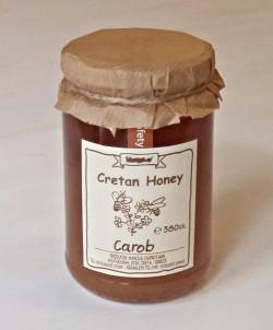 Řecký karobový med z Kréty 380g sklo SITIAKO