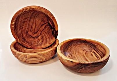 Miska 11 až 12 cm z olivového dřeva