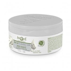 Tělové suflé olivový olej & oslí mléko 150ml