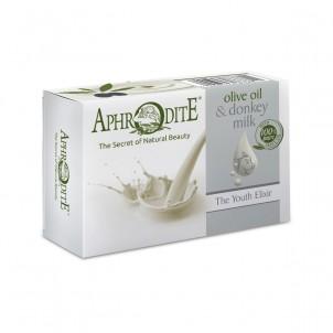 Přírodní mýdlo olivový olej & oslí mléko 100g