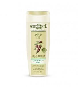 Přírodní olivový vlasový kondicioner na Barvené & Poškozené vlasy bez silikonů Aphrodite ®