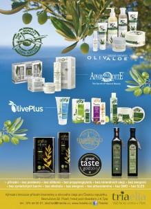 Triaelia přírodní kosmetika a olivový olej