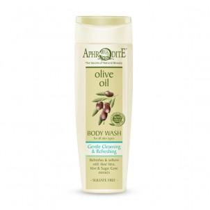 Sprchový olivový gel šetrně čistící & osvěžující 250ml