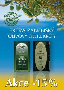 Olivový olej v AKCI