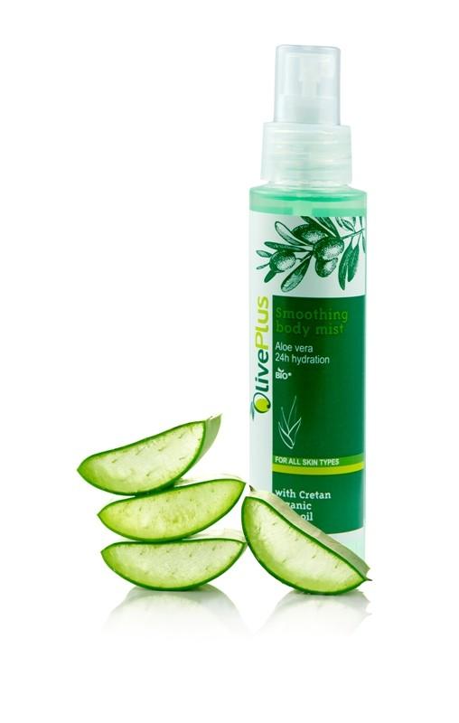 OlivePlus ® | Tělový spray Aloe Vera a BIO olivový olej 100 ml