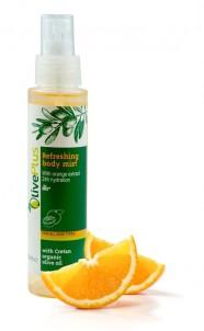 Tělový spray Osvěžující pomeranč 100ml