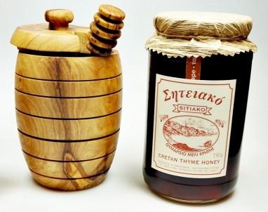 Řecký tymiánový med z Kréty 750g sklo SITIAKO