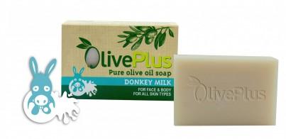 Olivové mýdlo s oslím mlékem 100 g